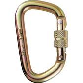 1/2in Screw-Lok D Steel Gold