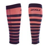 2XU Striped Run Comp Calf Sleeves