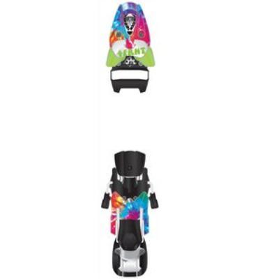 4Frnt Gr8ful Deadbolt 15 LTD Ski Bindings Tie Dye