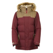 686 Authentic Runway with Faux Fur Womens Insulated Snowboard Jacket