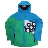 686 Mannual Iconic Insulated Snowboard Jacket Cyan