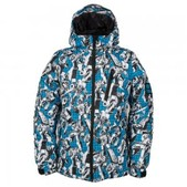 686 Stance Transformer Snowboard Jacket (Boys')