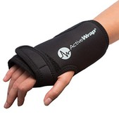 ActiveWrap Wrist Ice Wrap & 2 Heat/Ice Pack Package