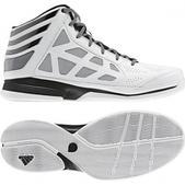 Adidas Men`s Crazy Shadow 2 Basketball Shoe (WHITE, 8)