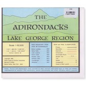 ADIRONDACK Lake George Region Map