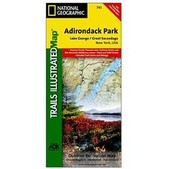Adirondack Park - Lake George / Great Sacandaga Lake Trail Map
