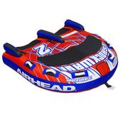 Airhead Shockwave 2 Inflatable Double Rider Towable AHSH-2