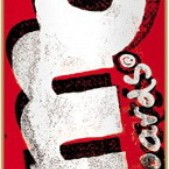 "Almost Word Mark Crusty Red / White / Black Skateboard Deck - 7.75"" x 31.1"""