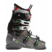 Alpina X5 Ski Boots Transparent Anthracite/Green