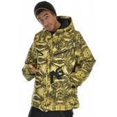 Analog Aero Down Snowboard Jacket Rit Yellow Print