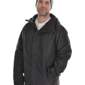 Analog Gamma Snowboard Jacket True Black - Men's
