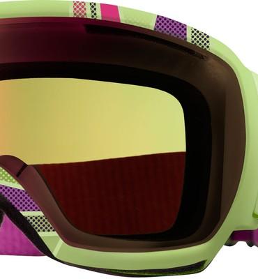 Anon Comrade Printed Snowboard Goggles Pop/Green Solex Lens - Men's