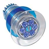 Aqualuma Gen Iii Series Underwater Light, 6 Led, Blue