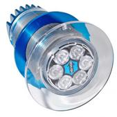 Aqualuma Gen Iii Series Underwater Light, 6 Led, White