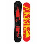 Arbor Draft Snowboard Black/Red 143