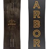 Arbor Element Black Snowboard 2018