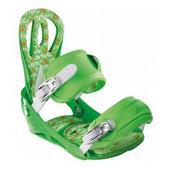 Artec Matrix Snowboard Bindings Green
