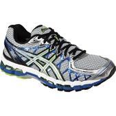 Asics GEL-Kayano 20 Road Running Shoe - Men's - D Width Size 10-D Color Lightning/Silver/Royal