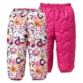 Baby Reversible Puff-Ball Pant