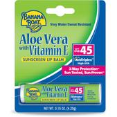 Banana Boat Aloe Vera with Vitamin E Sunscreen Lip Balm - SPF 45