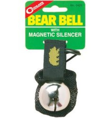 Bear Bell With Magnetic Silencer