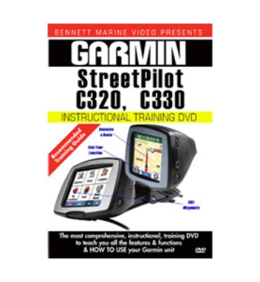 Bennett Marine Garmin C320 & C330 Streetpilot Instructional Training Dvd