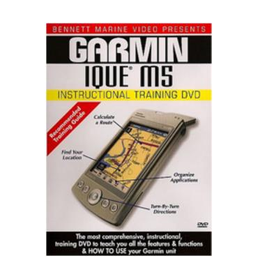 Bennett Marine Garmin Ique M5 Instructional Training Dvd