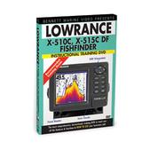 Bennett Marine Lowrance X 510c, X515c, Df Fishfinders Instructional Training Dvd