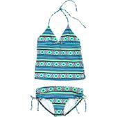 Billabong Heat Wave Tankini Swimsuit - Girls'