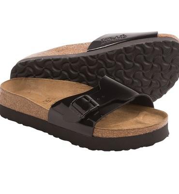 Birki?s by Birkenstock Catalina Platform Sandals - Patent Birko-flor(R) (For Women)