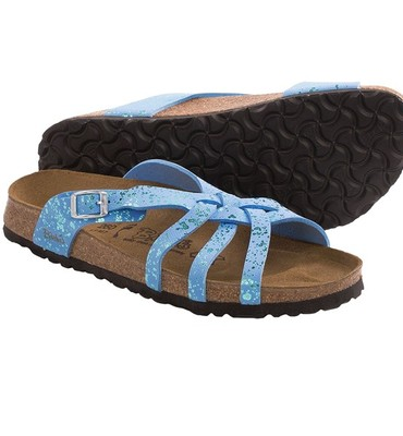 Birki?s by Birkenstock Mahe Glitter Sandals - Birko-flor(R) (For Women)