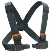 Black Diamond Vario Chest Harness Gray Size One Size