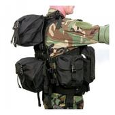 Blackhawk D.O.A.V. Assault Vest System Black 30DV00BK