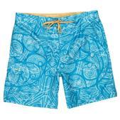 Blacktip Men's Bull Short Swim Trunks Blue
