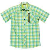 Blacktip Mens Nice Catch Shirt, Light Green, M