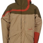 Bonfire Fusion Diffuse Snowboard Jacket Sienna/Olive - Men's