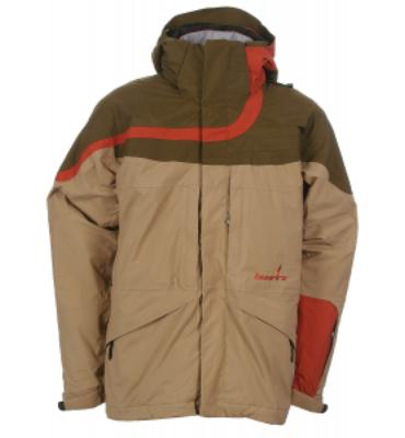 Bonfire Fusion Diffuse Snowboard Jacket Sienna/Olive