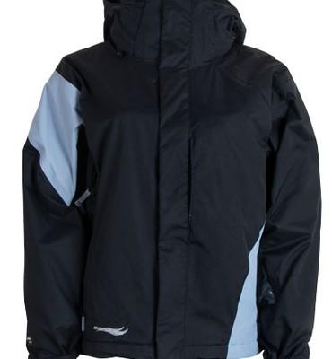 Bonfire Fusion Prism Snowboard Jacket Black/Ocean - Women's