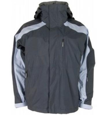 Bonfire Fusion Reflection Snowboard Jacket Tommy Grey