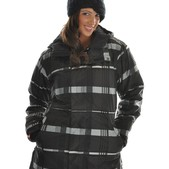 Bonfire Presto Snowboard Jacket Black - Women's