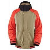 Bonfire Timberline Snowboard Jacket Canvas/Black/Burnt