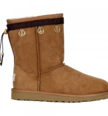 Boot Hug Peace Sign Boot Accessory (Girls')