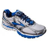 Brooks Adrenaline GTS 14 Road Running Shoe - Men's - 2E Width Size 7.5-2E Color White/Electric/Silver