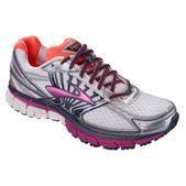 Brooks Adrenaline GTS 14 Road Running Shoe - Women's - 2A Width Size 8-2A Color White/Fuschia/Midnight