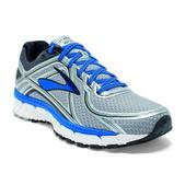 Brooks Adrenaline GTS 16 Road Running Shoe - Men's - 2E Width Size 11.5-2E Color Silver/Blue/Black