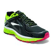 Brooks Adrenaline GTS 16 Road Running Shoe - Men's - D Width Size 10.5-D Color Black/Nightlife/HighRiskRed