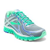 Brooks Adrenaline GTS 16 Road Running Shoe - Women's - D Width Size 10-D Color Silver/Bluebird/BlueTint