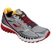 Brooks Ghost 6 Road Running Shoe - Men's - D Width Size 11.5-D Color Black/Lava/Silver/Citrus