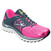 Brooks Glycerin 11 Road Running Shoe - Women's - B Width Size 6-B Color BritePink/Denim/Silver/White