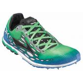 Brooks Mach 14 Cross Country Spike - Men's - D Width Size 12-D Color Blue/Green